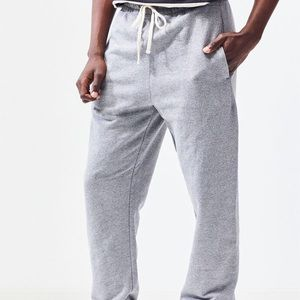 Pacsun Basic Grey French Terry Joggers